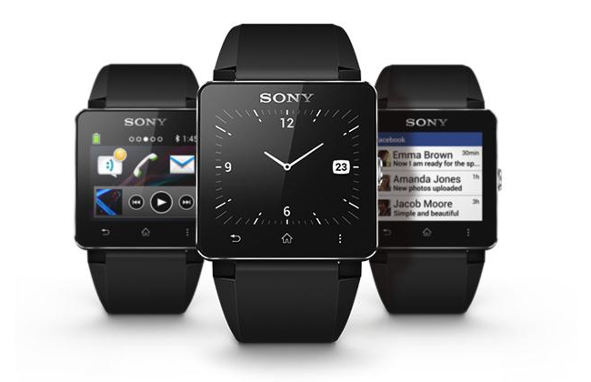Sony smartwatch picture